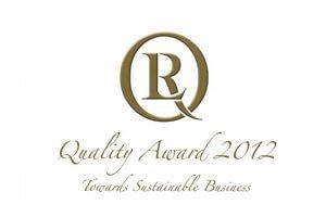 Attestato Quality Award 2012