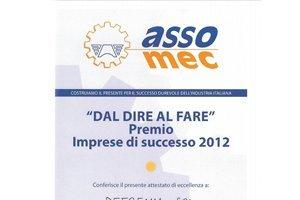 Premio ASSO. MEC 2013
